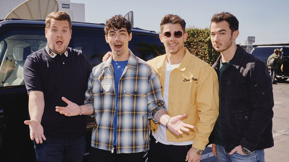 The Late Late Show with James Corden Jonas Brothers - Publicity - H 2019
