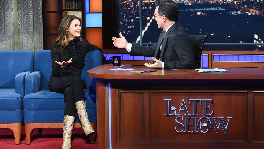 The Late Show with Stephen Colbert and guest Keri Russell - Publicity - H 2019
