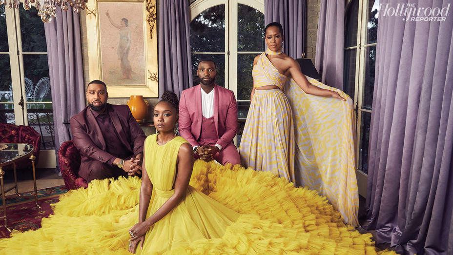 THR Stylists - Kiki Layne - Regina King - Wayman Bannerman and Micah McDonald - Photographed By Sami Drasin -SPLASH  2019