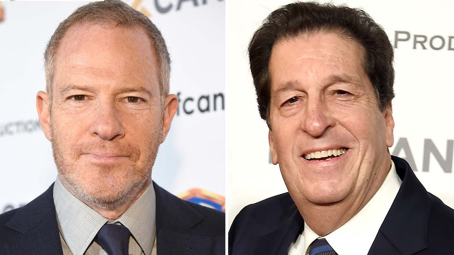 Toby Emmerich and Peter Roth Split- Getty-H 2019