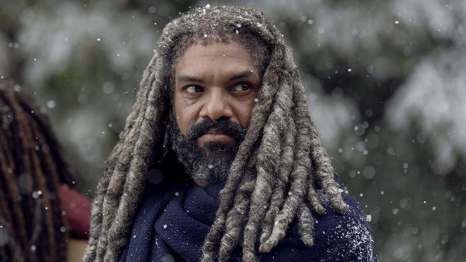The Walking Dead _ Season 9, Episode 16 - Khary Payton as Ezekiel, Danai Gurira as Michonne- H 2019