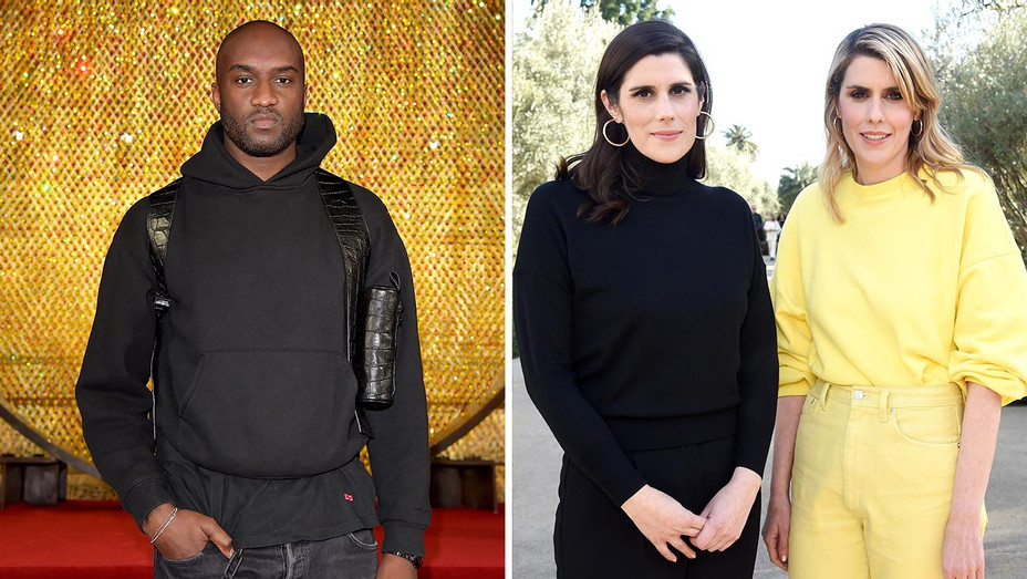 Virgil Abloh-Laura Mulleavy and Kate Mulleavy -Split-Getty-H 2019