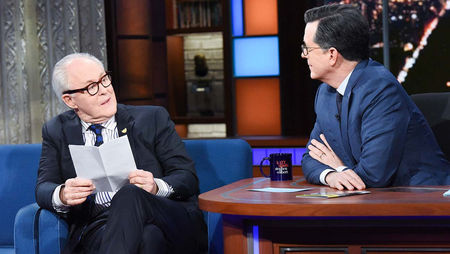 Late Show Stephen Colbert  John Lithgow - Publicity - H 2019