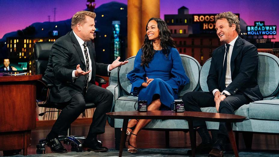 The Late Late Show with James Corden -Zoe Saldana, Jason Clarke - April 9, 2019 - Publicity - H 2019