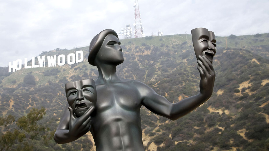 21st Annual SAG Awards 'Actor' Visits The Hollywood Sign-Getty-H 2019