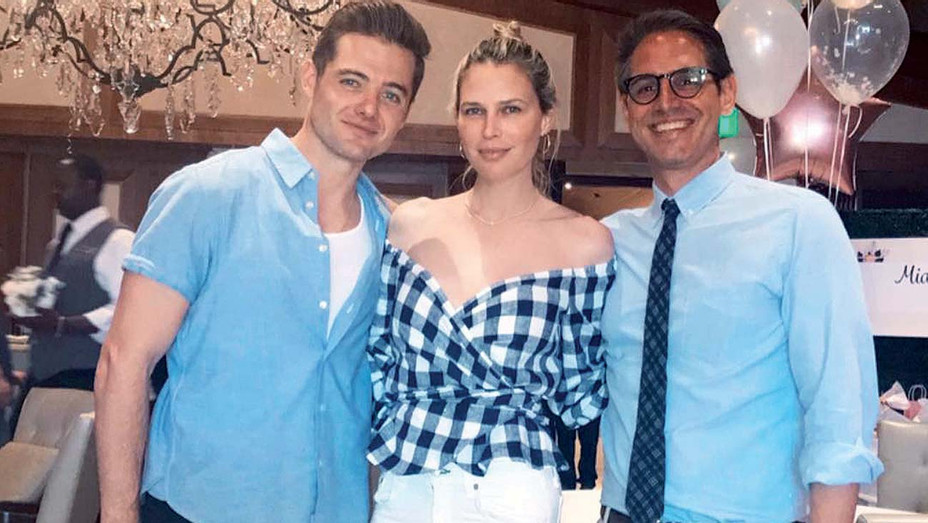 Sara foster - Instagram - Greg Berlanti and his husband, Robbie Rogers (with Sara Foster) - Publicity-H 2019