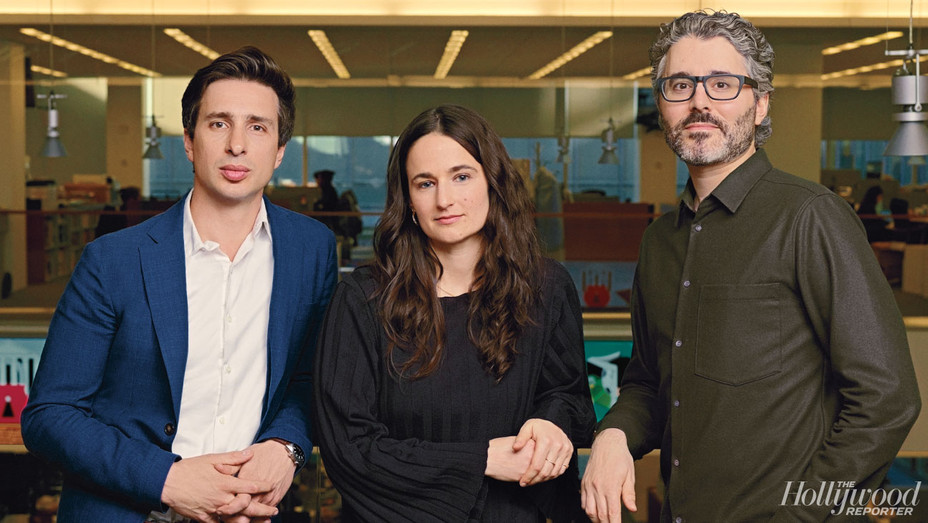 THR-Sam Dolnick, Lisa Tobin and Michael Barbaro -Photographed by Wesley Mann-H 2019