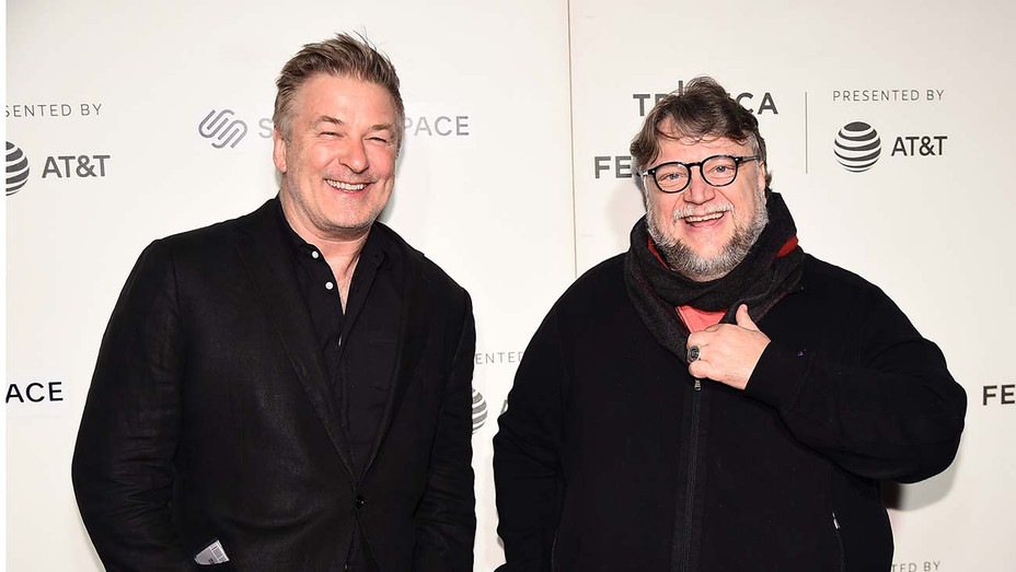 Alec Baldwin and Guillermo del Toro - Getty - H 2019