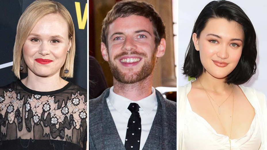 Alison Pill, Harry Treadway and Isa Briones-Getty-H 2019