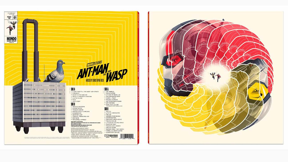 Ant-Man and the Wasp Soundtrack - Mondo Music Publicity-H 2019