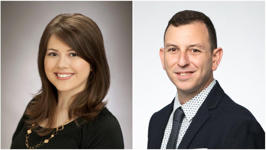 Erika Kennair, Jonathan Gabay Split - Publicity - H 2019