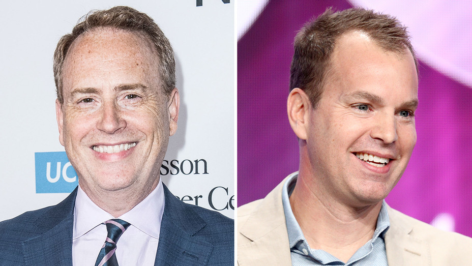 Bob Greenblatt Casey Bloys Split - Getty - H 2019