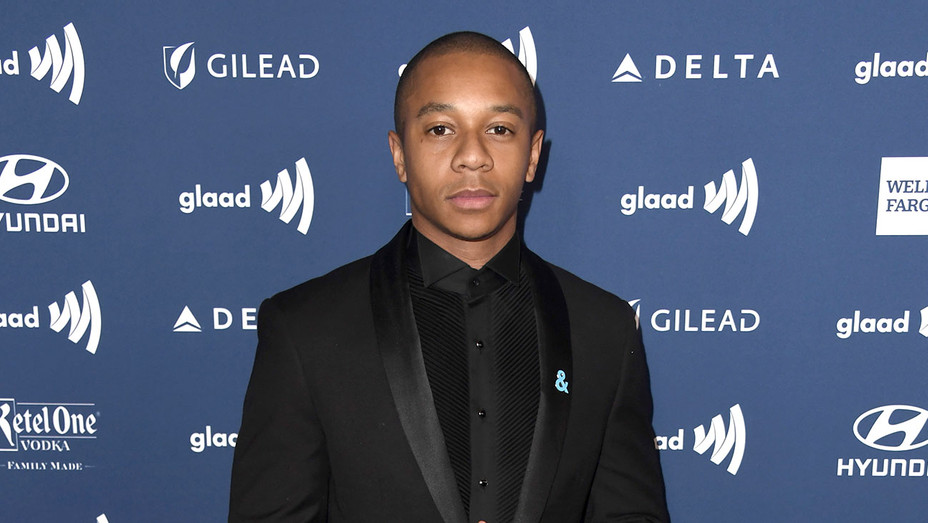 DeRon Horton attends the 30th Annual GLAAD Media Awards -Getty-H 2019