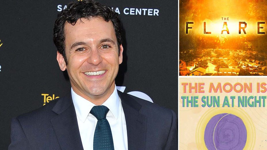 Fred Savage-The Flare-The Moon is the Sun at night-H 2019