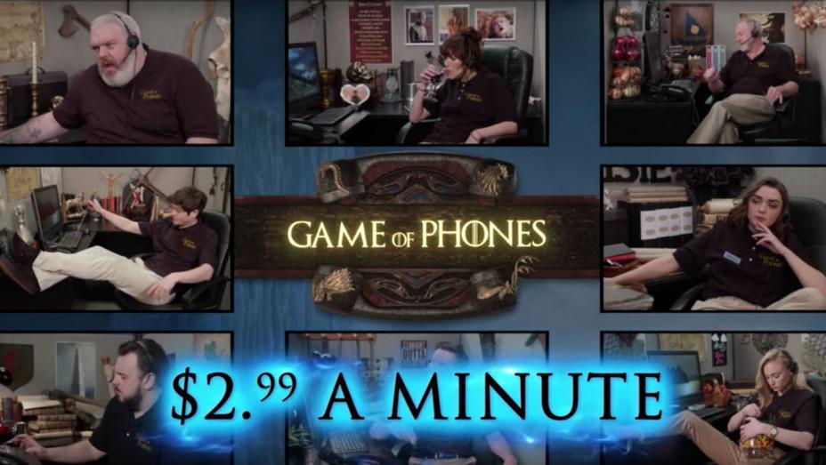 Game of Phones Kimmel sketch - Publicity - H 2019