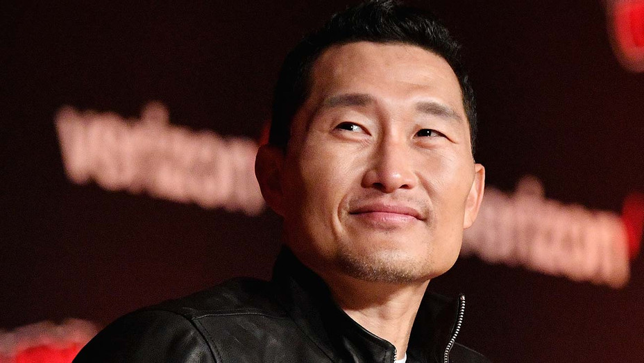 Daniel Dae Kim speaks onstage during the Hellboy panel during New York Comic Con 2018 - Getty-h 2019