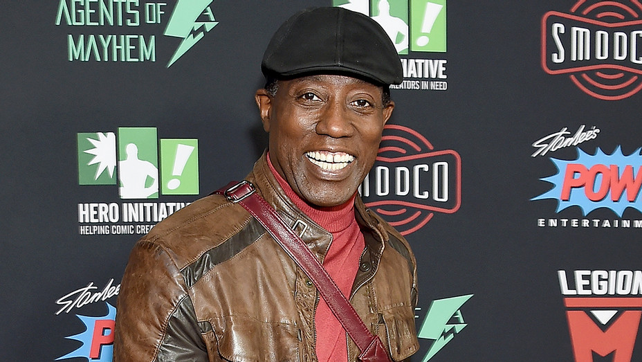 Wesley Snipes TCL Chinese Theatre - Getty - H 2019