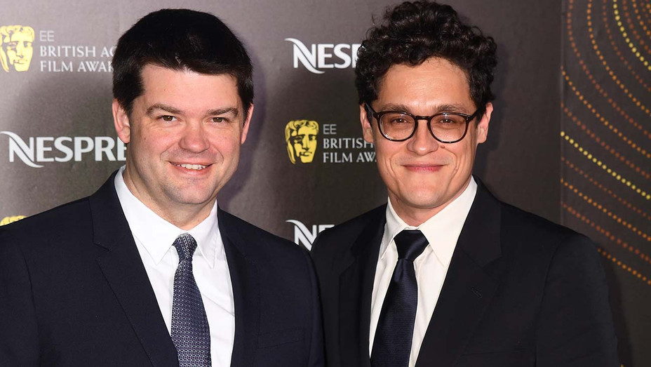 Chris Miller and Phil Lord  attend the Nespresso British Academy Film Awards - Getty-H 2019