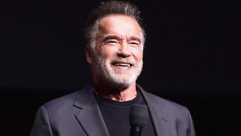 Arnold Schwarzenegger Onstage CinemaCon - Publicity - H 2019