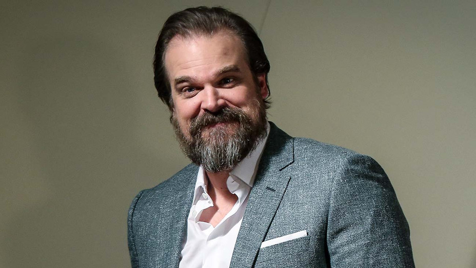 David Harbour Hellboy Photocall - Getty - H 2019