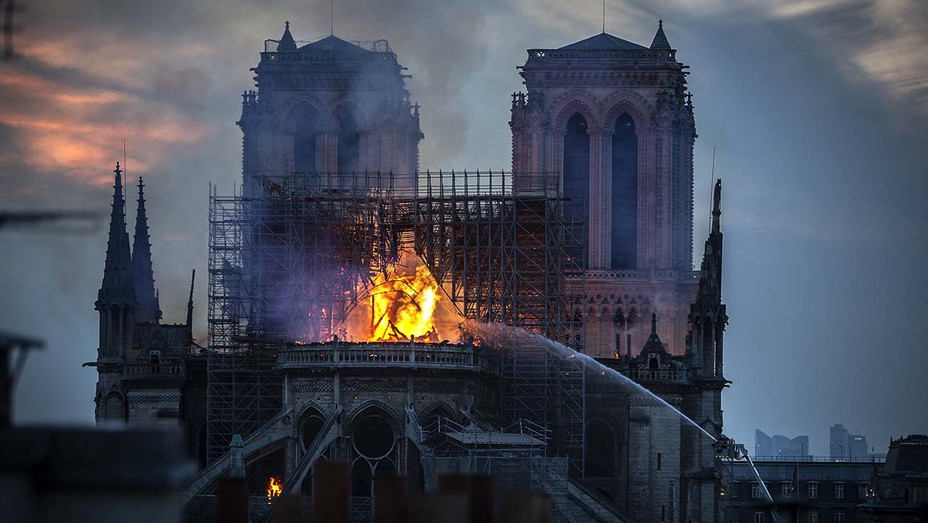 Notre-Dame Cathedral on April 15, 2019  - Fire - Getty-H 2019
