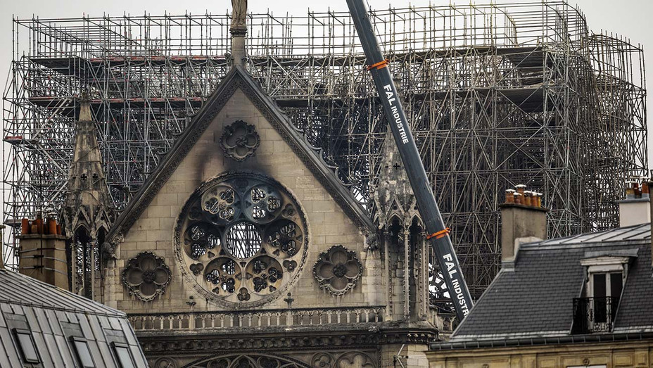 Notre-Dame Cathedral - Damage of fire- April 16, 2019 -Getty-H 2019