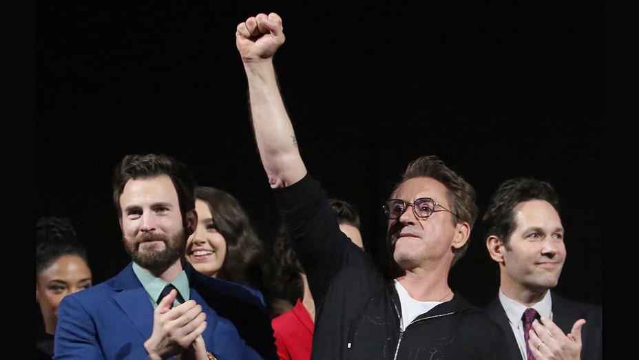Los Angeles World Premiere of Marvel Studios Avengers Endgame - Chris Evans and Robert Downey Jr. - Getty-H 2019
