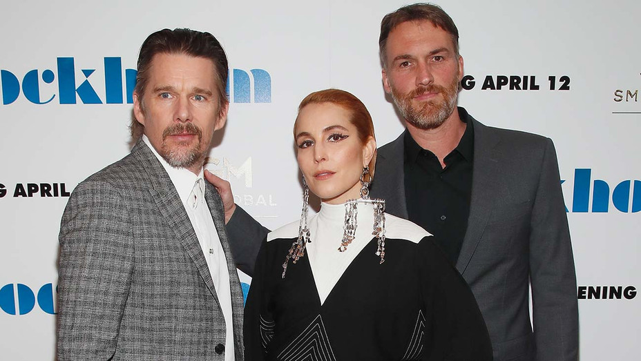 Ethan Hawke Noomi Rapace Robert Budreau Stockholm Premiere - Getty - H 2019