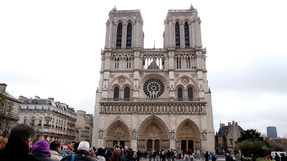 Notre Dame Cathedral Paris Daytime - Getty - H 2019