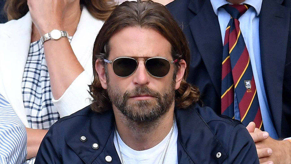 Bradley Cooper attends day eleven of the Wimbledon Tennis Championships - Getty-H 2019