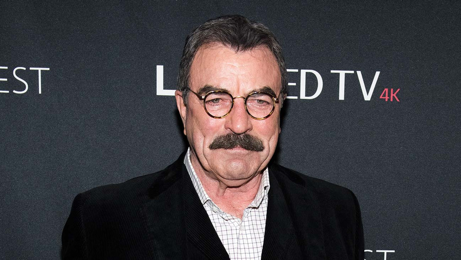 Tom Selleck attends the Blue Bloods screening - Getty-H 2019