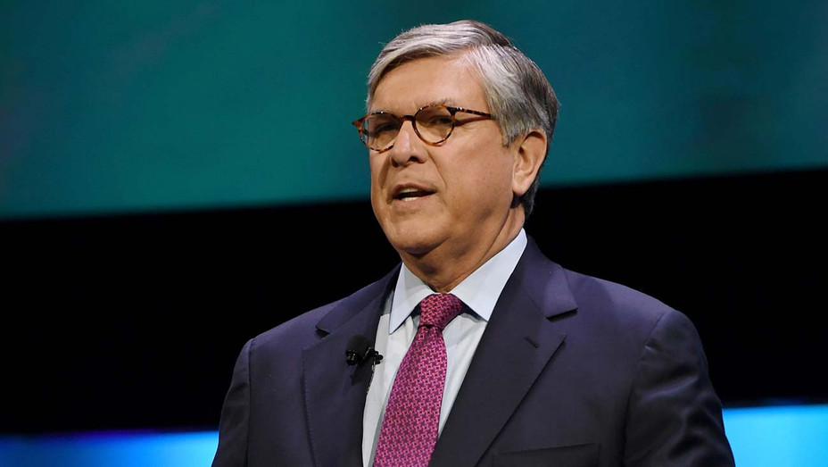 Gordon H. Smith speaks during the 2018 NAB Show - Getty-H 2019