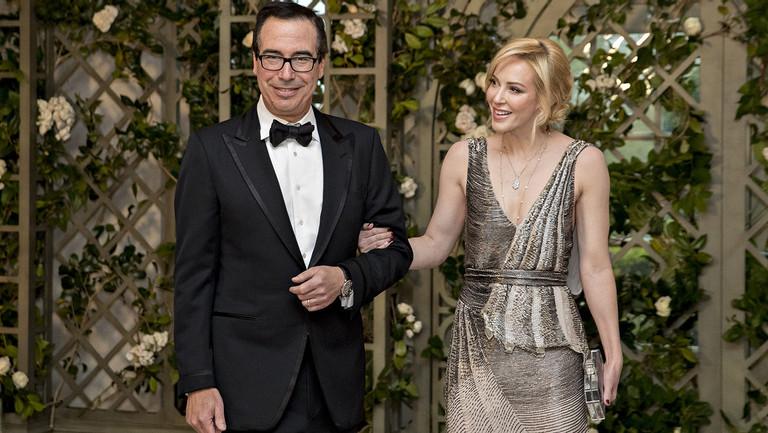 Mrs. Mnuchin, Hollywood Player? Louise Linton Plots Film Career Amid Capitol Hill Scrutiny