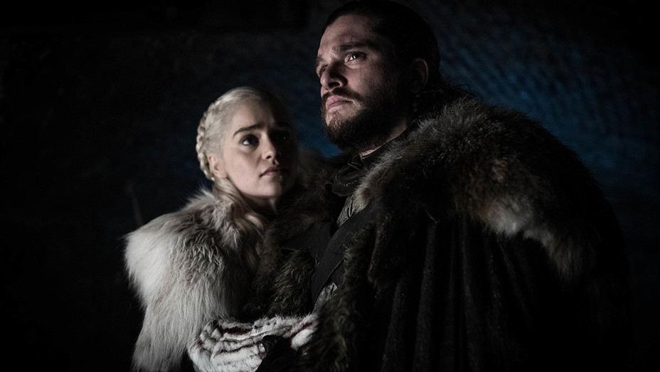 Game of Thrones Season 8 Episode 2 - Emilia and Kit - H Publicity 2019
