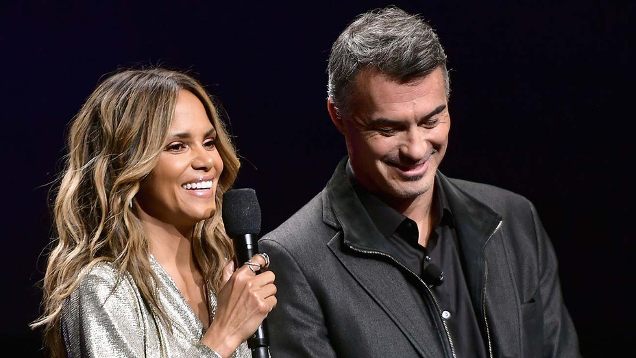 Halle Berry and Chad Stahelski - Getty - H 2019