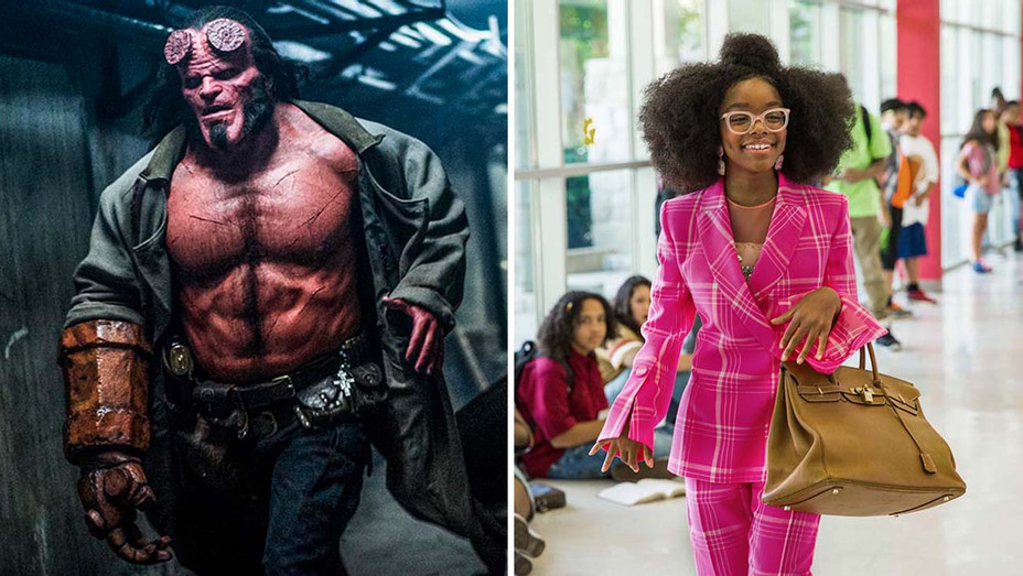 Hellboy and Little Split - Publicity-H 2019
