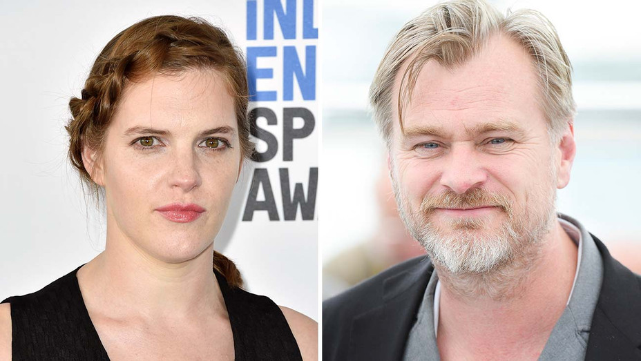 Jennifer Lame Christopher Nolan Split - Getty - H 2019