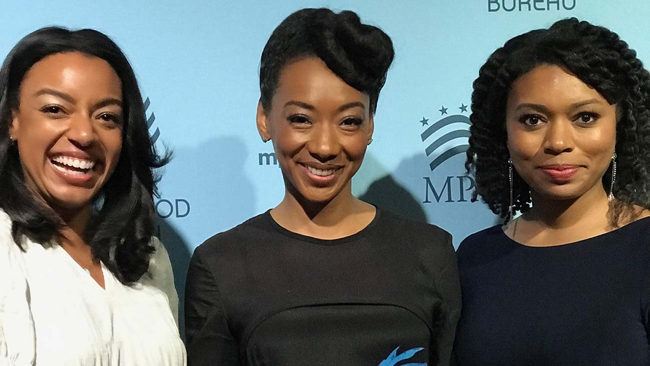 MPAC Media Awards - Nijla Mu'min , Betty Gabriel, and Niamah Muhammad - Publicity-H 2019