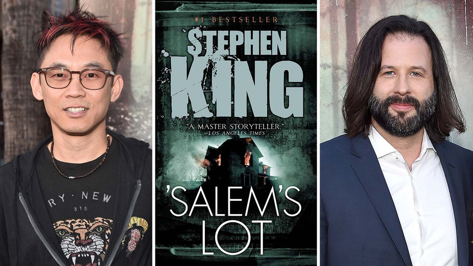 James Wan_Salem's Lot Cover_Gary Dauberman_Split - Getty - H 2019