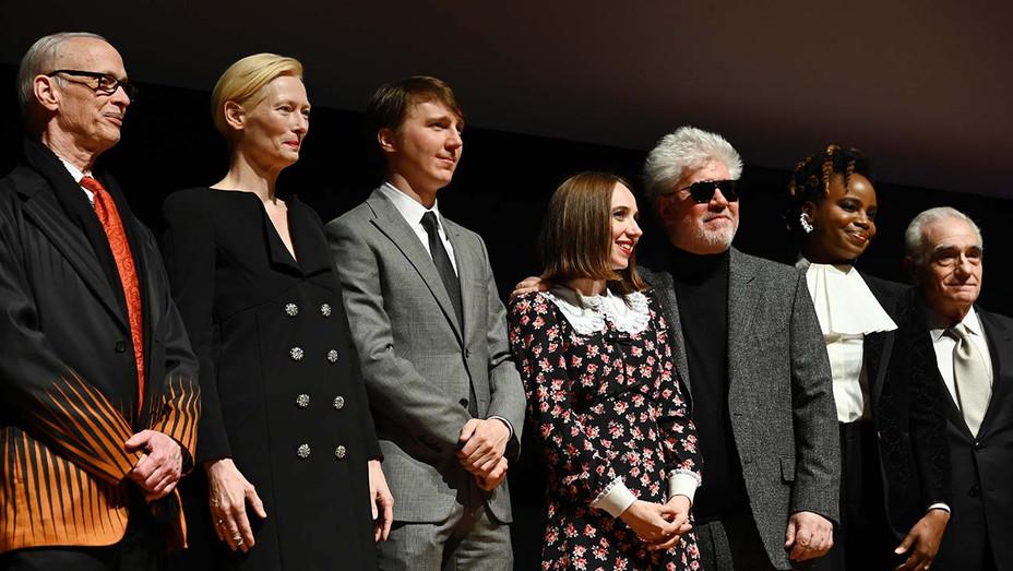 John Waters, Tilda Swinton, Paul Dano, Zoe Kazan, Pedro Almodovar, Dee Rees, and Martin Scorsese - Getty - H 2019