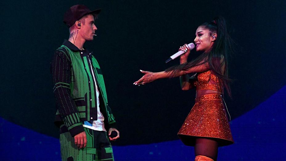 Justin Bieber-Ariana Grande-Getty-H 2019