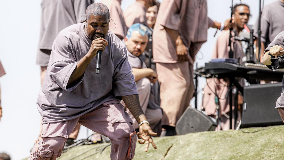 Kanye West performs Sunday Service during the 2019 Coachella Valley-Getty-H 2019