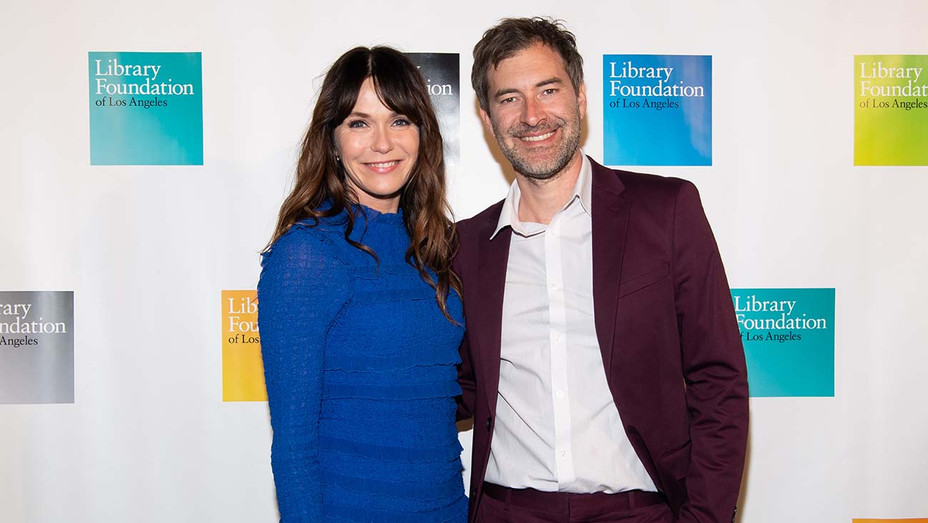 Katie Aselton and Mark Duplass - Getty - H 2019