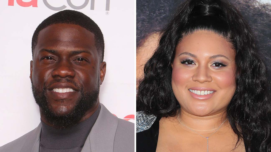 Kevin Hart_Tracy Oliver_Split - Getty - H 2019
