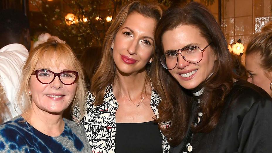 Tribeca Film Festival Women's Filmmaker Luncheon-Kim Cattrall, Alysia Reiner and Desiree Gruber -Getty-H 2019