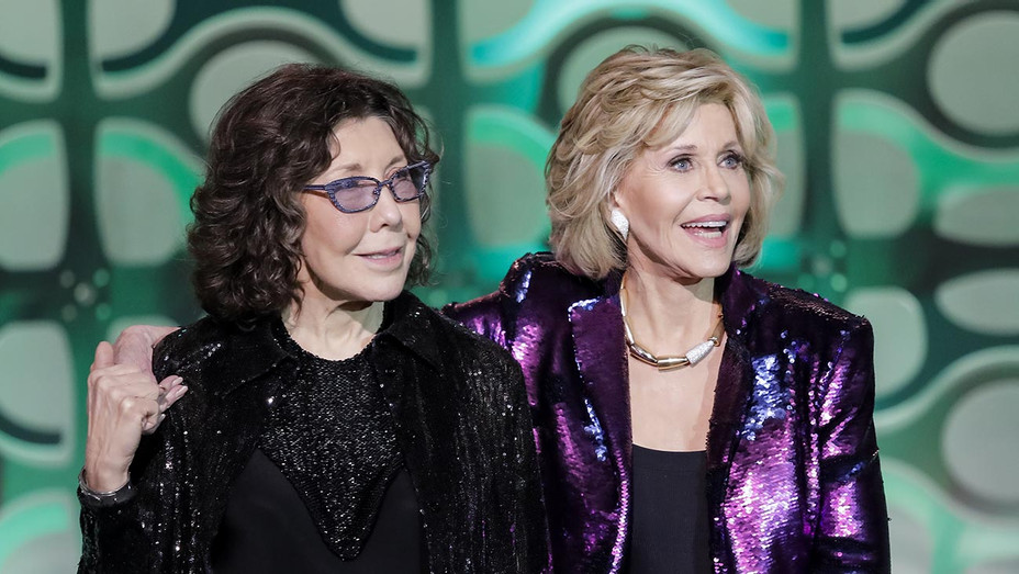 Lily Tomlin and Jane Fonda-Lo Maximo Gala-Getty-H 2019