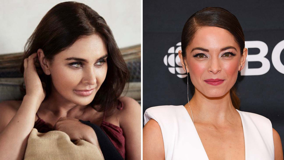 Lisa Ray and Kristin Kreuk- Split-Getty-H 2019