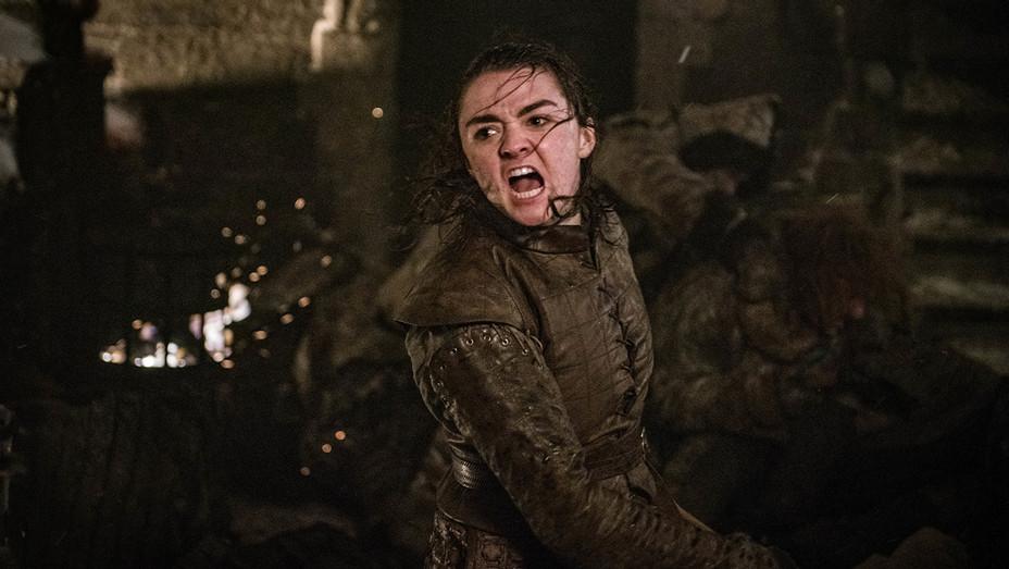 Game of Thrones - Maisie Williams - Season 8 Episode 3 - H Publicity 2019