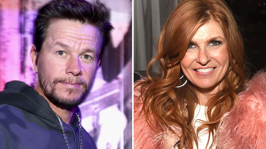 Mark Wahlberg and  Connie Britton Split-Getty-H 2019