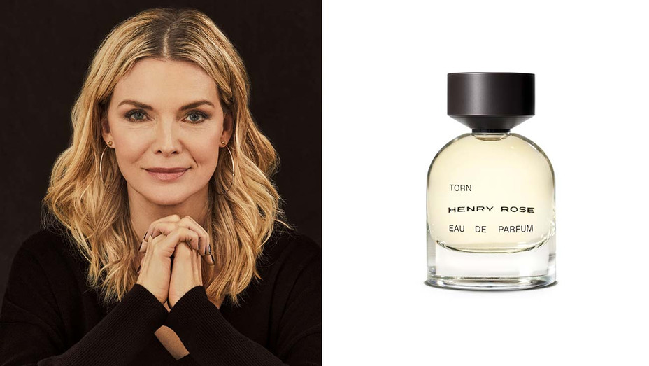 Michelle Pfeiffer and the Torn perfume Split-H 2019